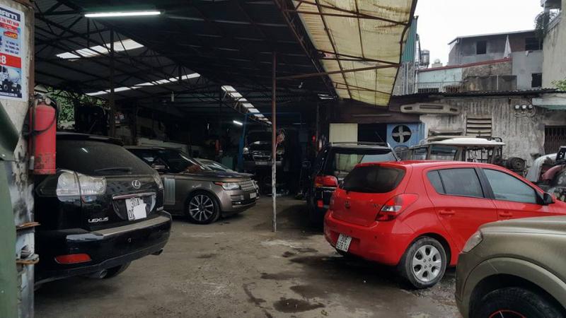 Gara ôtô Thành Vinh