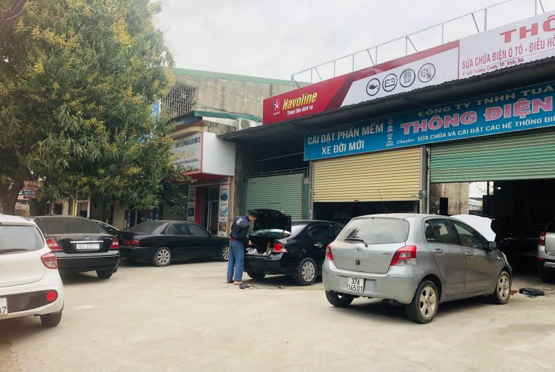 Gara ôtô Thông Điện