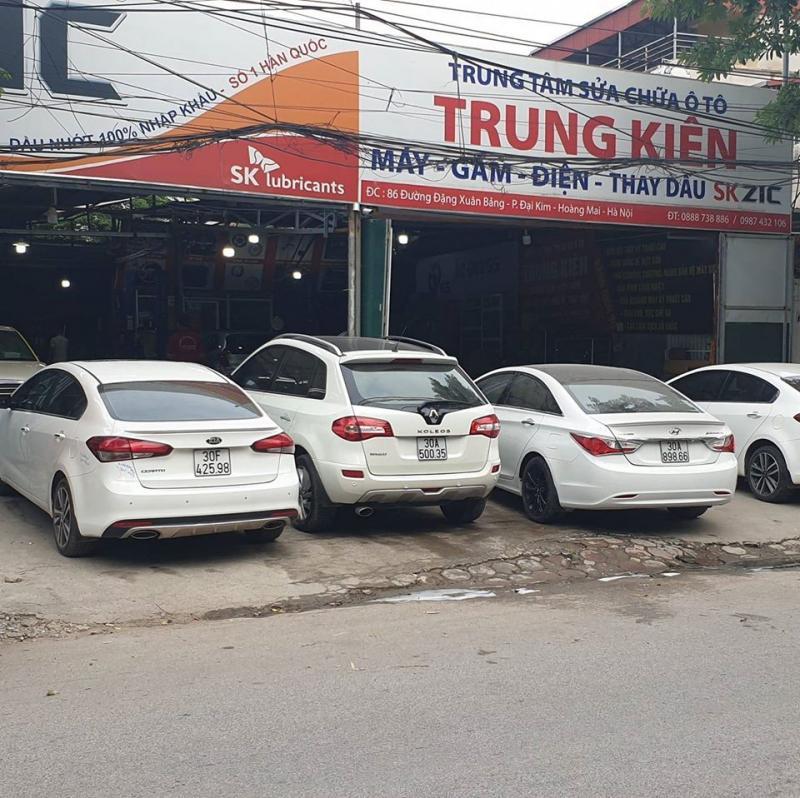 Gara Ôtô Trung Kiên