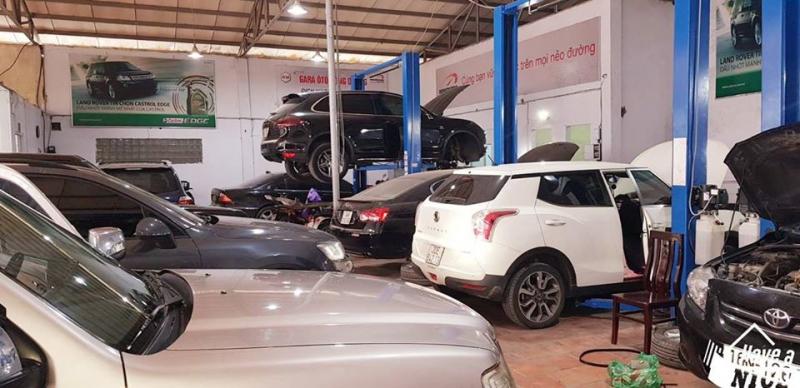 Garage Ô tô Đông Dương