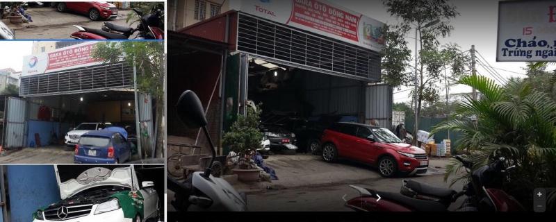 Garage ô tô Đông Nam