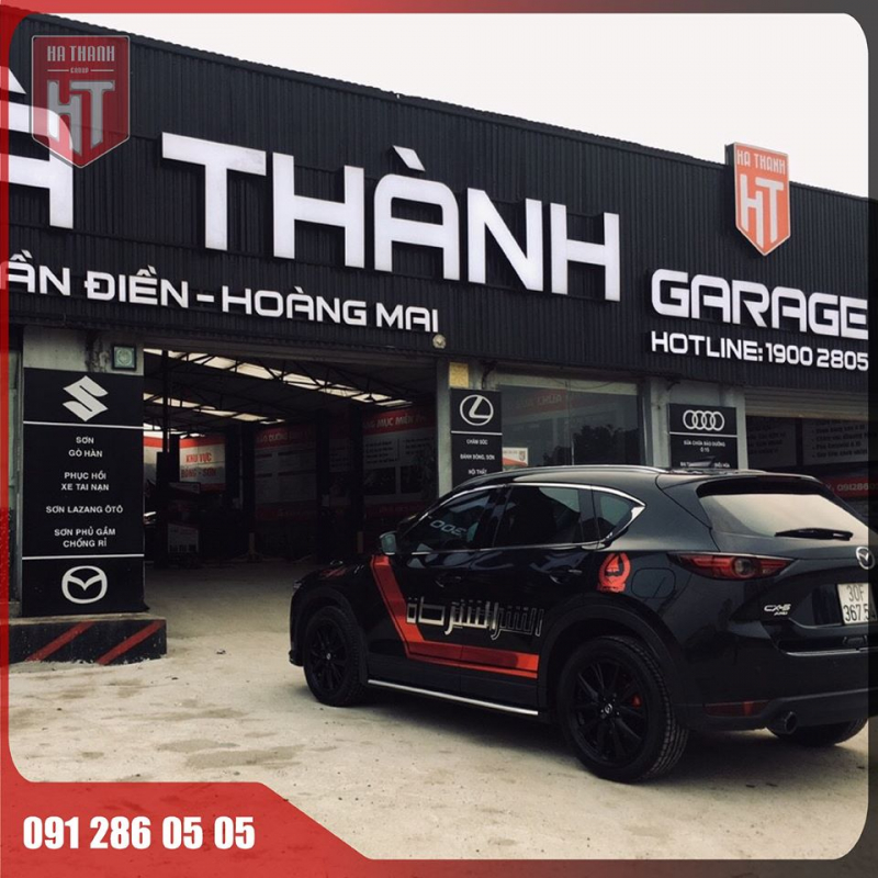 Garage ô tô Hà Thành