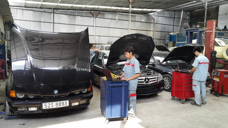 Garage Hyundai Sông Hàn