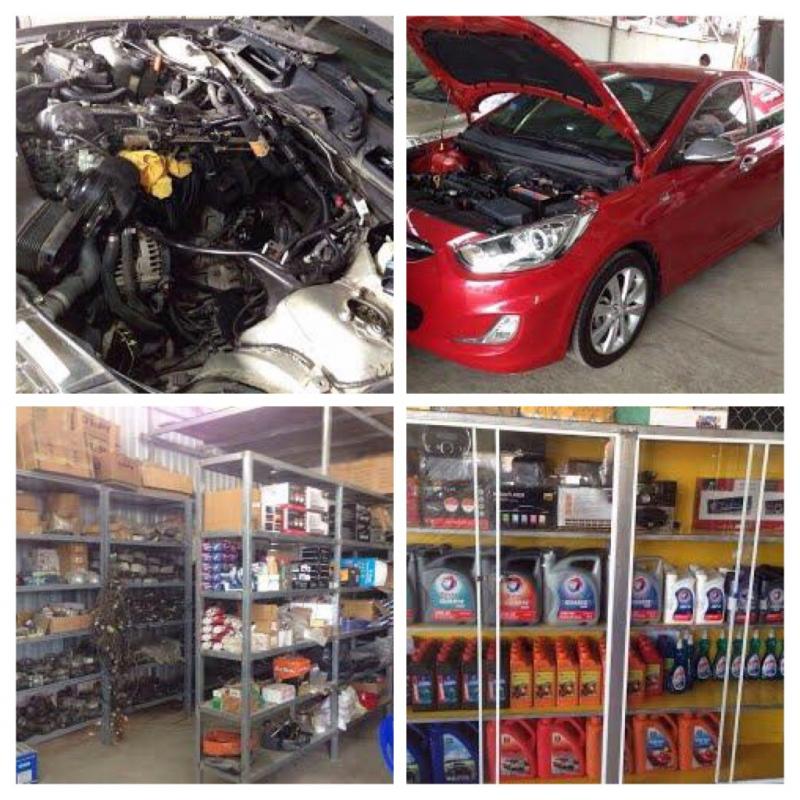 Garage ô tô Hóa