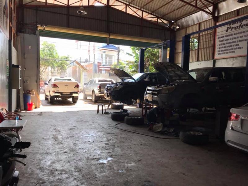 Garage Ô tô PHỐ 24H