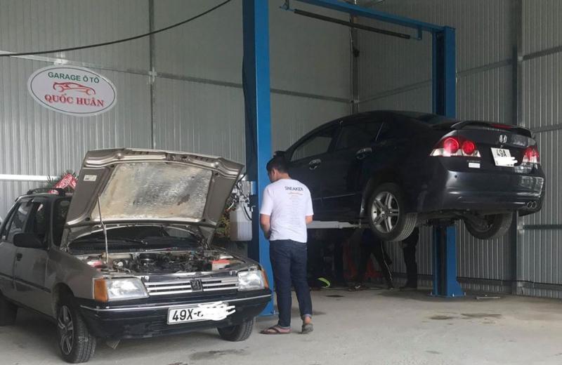 Garage Ô tô Quốc Huân