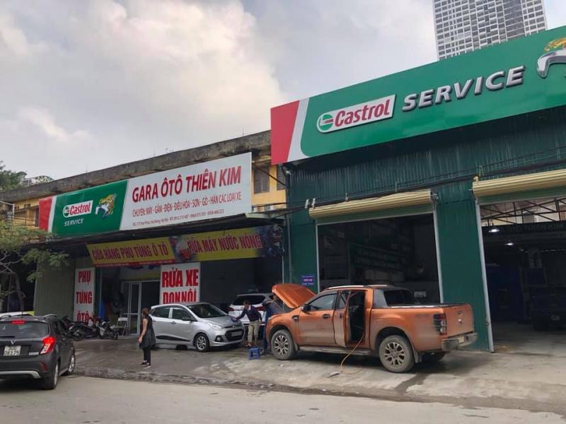 Garage ô tô Thiên Kim