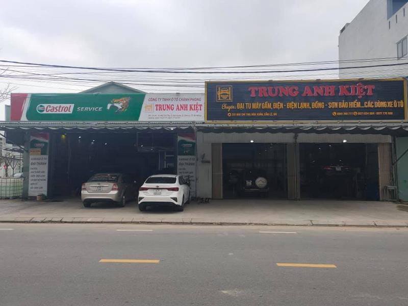 Garage Ô Tô Trung Anh Kiệt