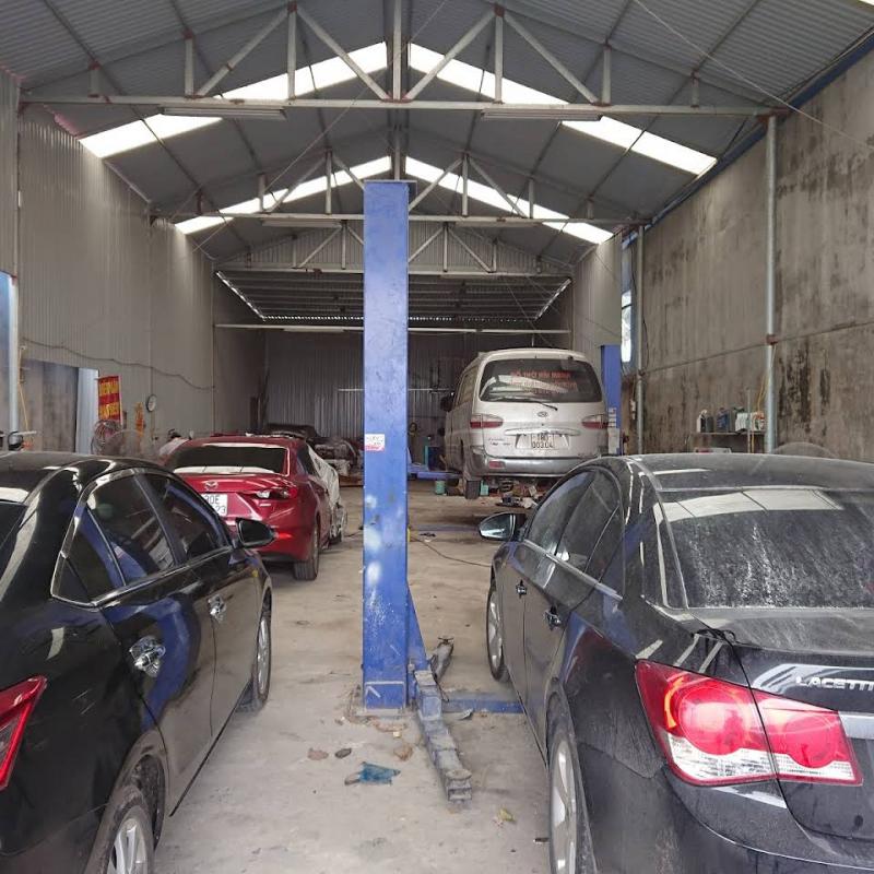 Garage ô tô Trung Kiên