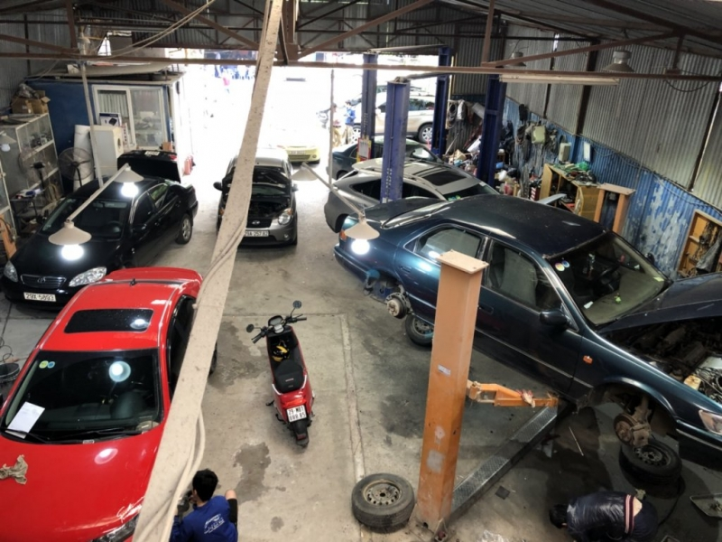 Gara ô tô Gia Định