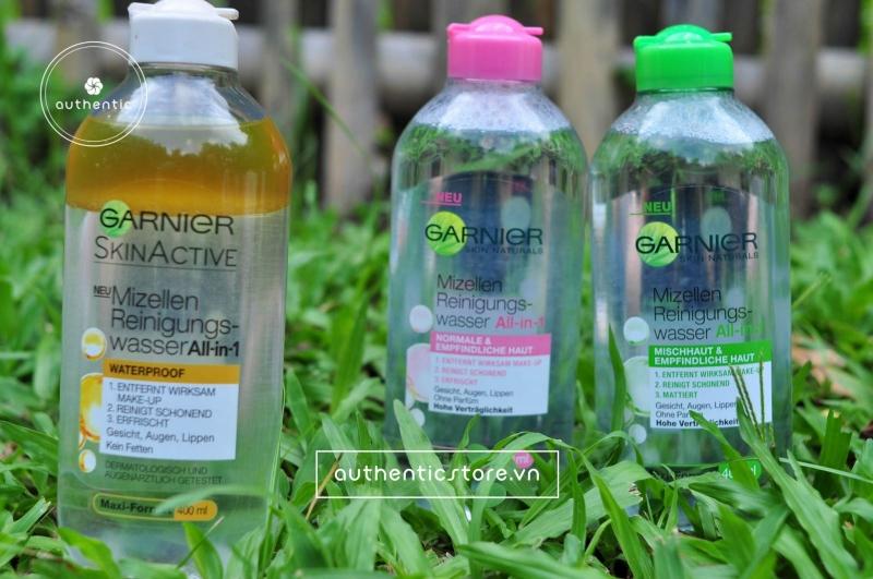 Tẩy trang Garnier Cleansing Water