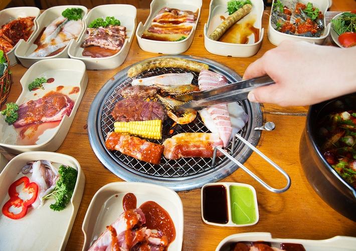 Sato BBQ được đánh giá là có đồ ăn tươi ngon giá cả lại rẻ
