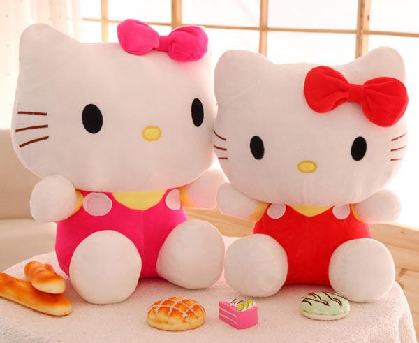 Gấu bông mèo Hello Kitty cao cấp