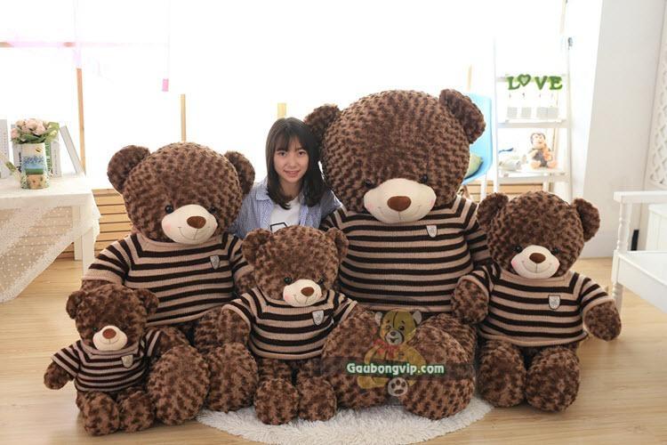 Đến với Gấu Bông VIP, bạn có thể tìm thấy với hàng trăm mẫu gấu bông cao cấp