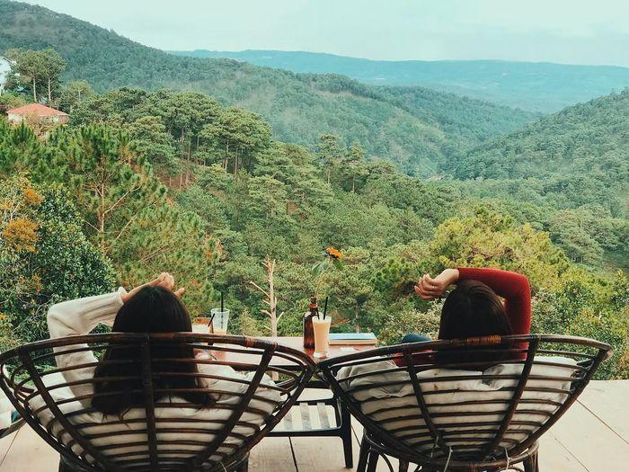 Gâu được các bạn trẻ yêu thích vì có view đồi núi vô cùng đẹp