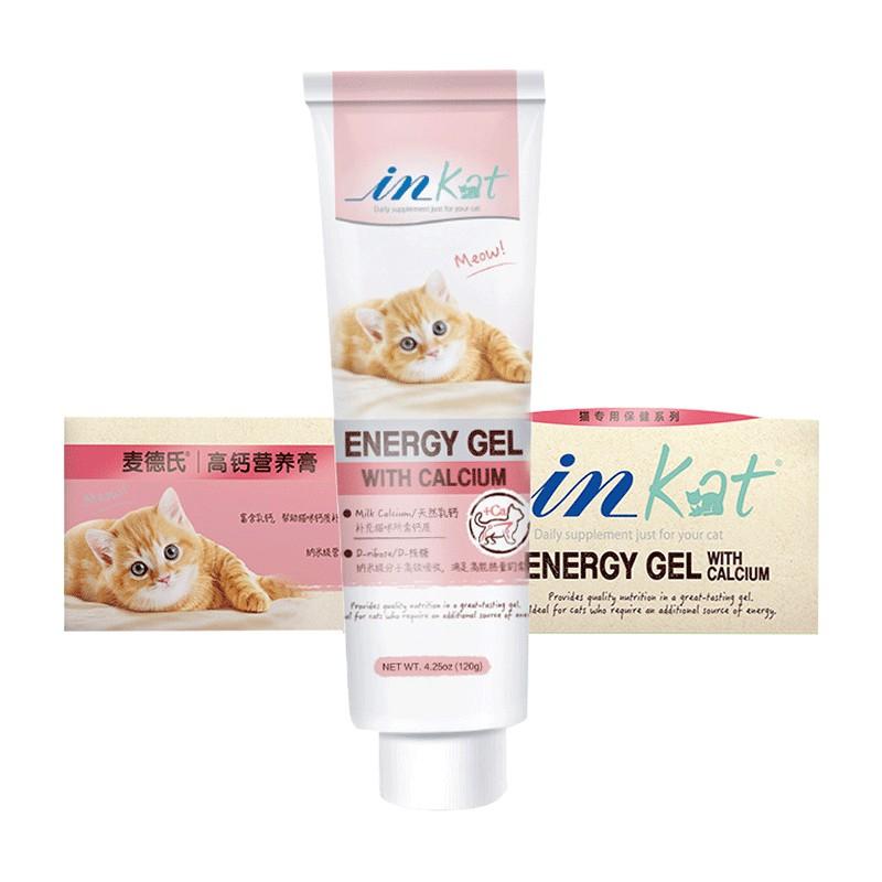 Gel dinh dưỡng bổ sung canxi cho chó, mèo – inKat Gel Calcium