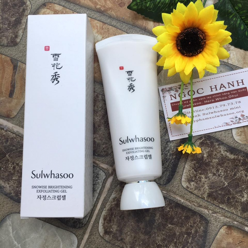 Sulwhasoo Snowise Brightening Exfoliating Gel