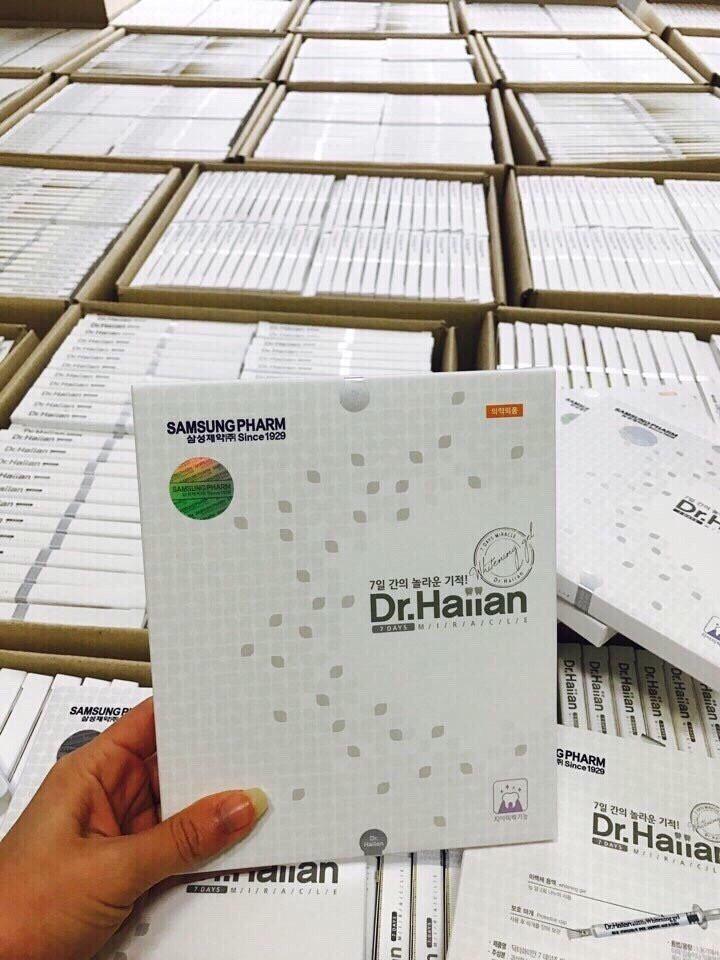 Gel Tẩy Trắng Răng 7 Ngày DR.Haiian Hàn Quốc