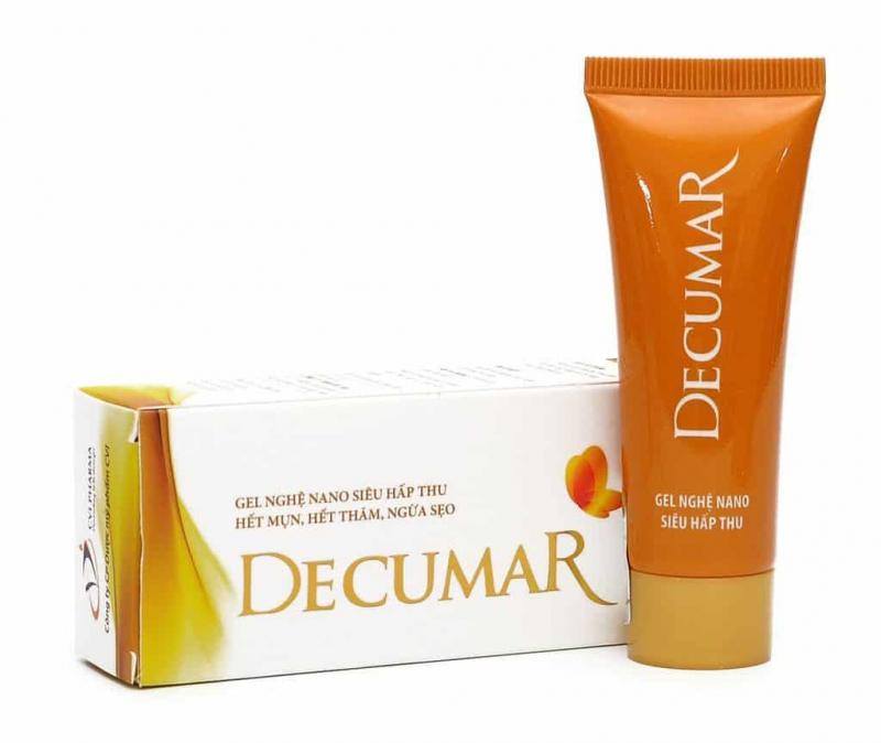 Gel trị mụn và thâm Decumar