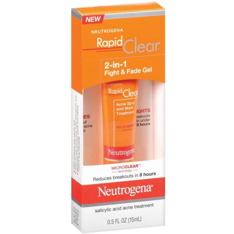 Gel Neutrogena Rapid Clear là một trong những sản phẩm trị thâm mụn hiệu quả