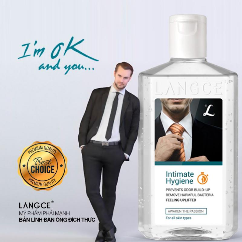 Gel vệ sinh nam Langce