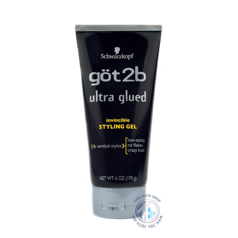 Gel vuốt tóc Got2b Ultra Glued