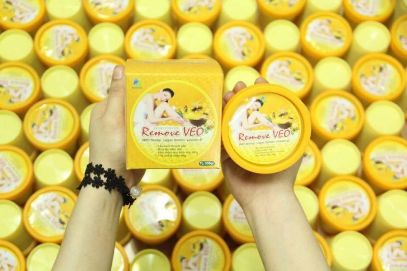 Gel Wax lông sáp Ong Veo