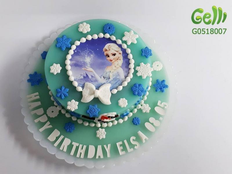 Mẫu bánh sinh nhật rau câu xinh xắn dành cho bé