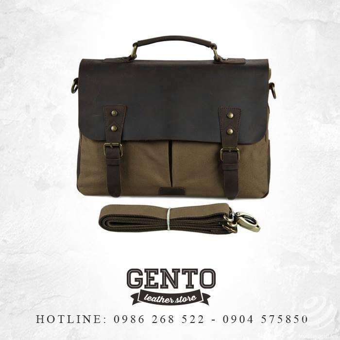 Túi xách nam tại Gento Leather