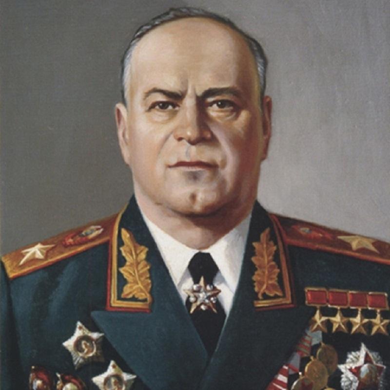 Danh tướng người Liên Xô - Geogry zukop.