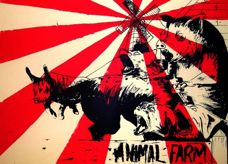 Tranh minh họa Trại gia súc