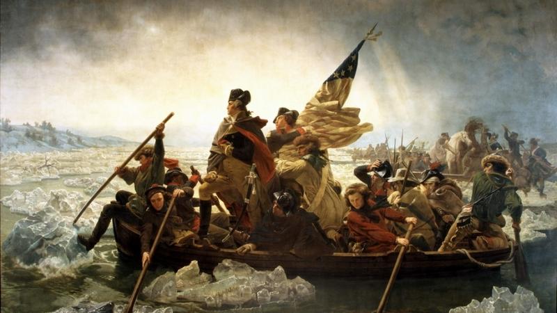 Washington là người thuyền trưởng lèo lái con tàu Hoa Kỳ qua giông bão