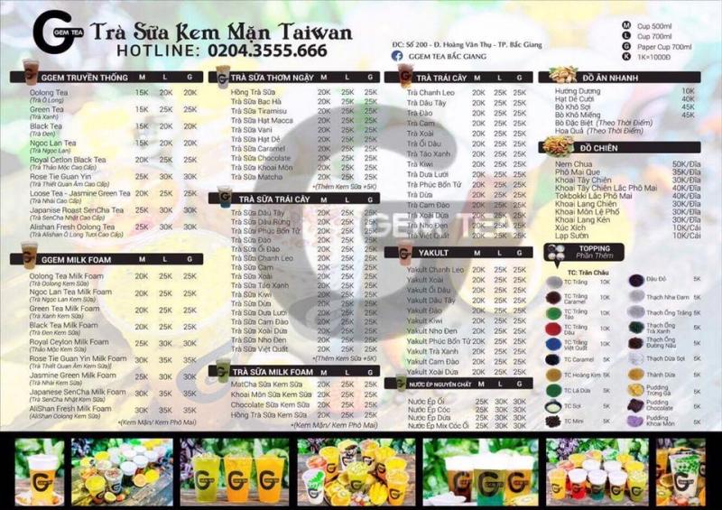 GGEM TEA Bắc Giang