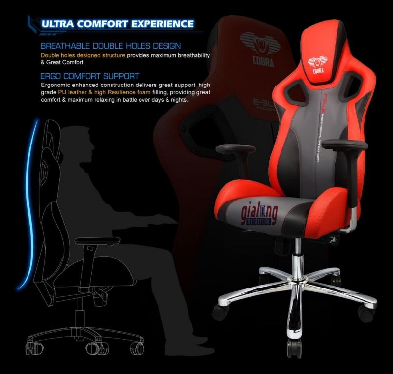 Đây là một sản phẩm cao cấp được nâng cấp từ sản phẩm tiền nhiệm  E-BLue Cobra E303