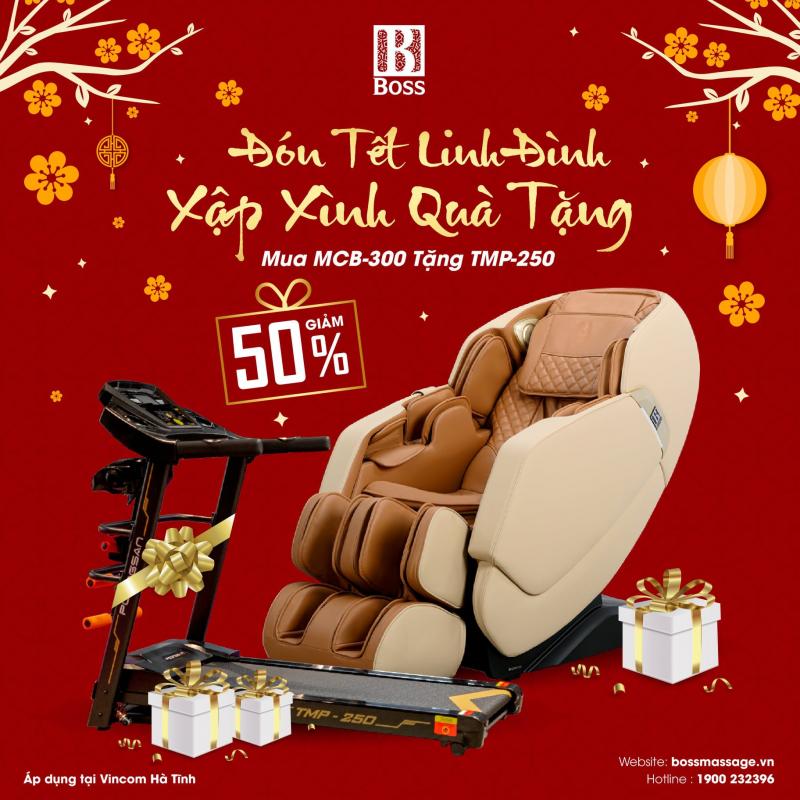Ghế massage Boss Hà Tĩnh
