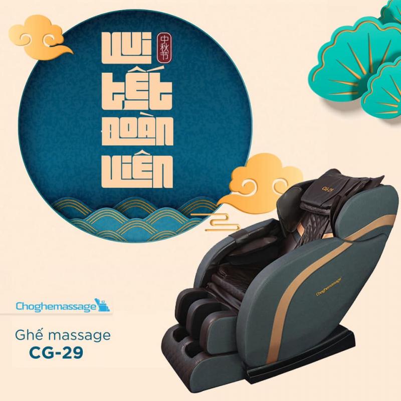 Ghế Massage Cao Cấp Chính Hãng Số 81 Trần Phú, TP Hà Tĩnh