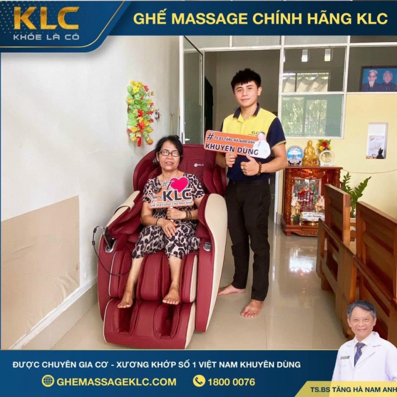 Ghế Massage Chính Hãng KLC Nha Trang