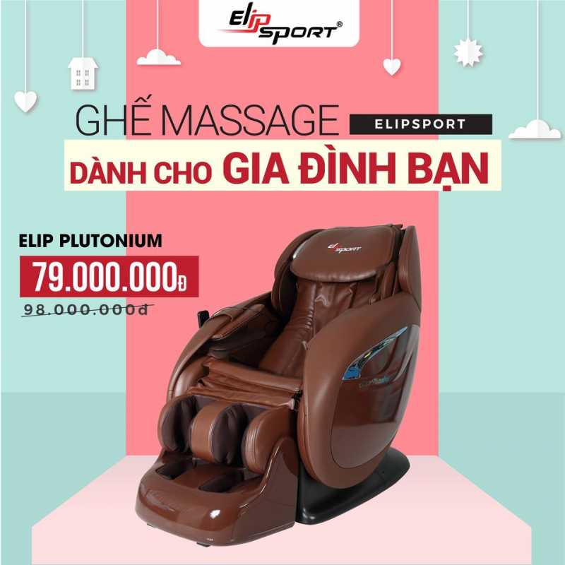Ghế massage Elipsport