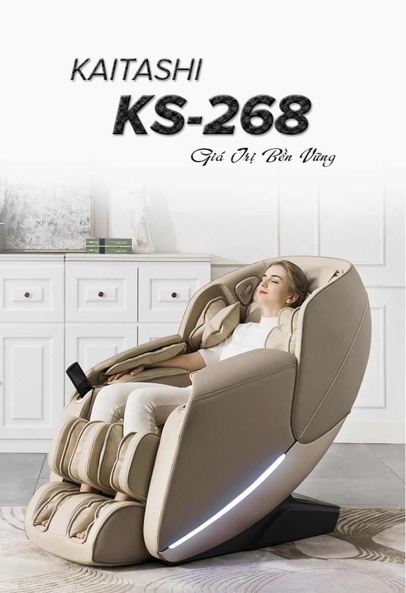 Ghế massage Kaitashi KS-268