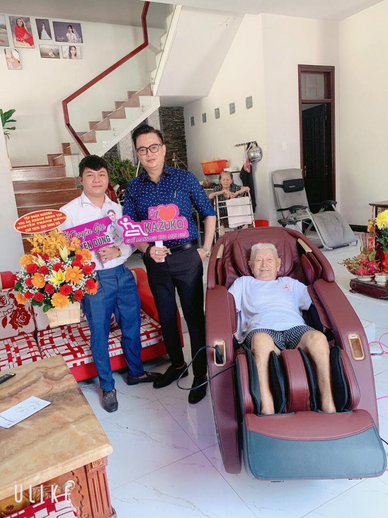 Ghế Massage Kazuko Ninh Thuận