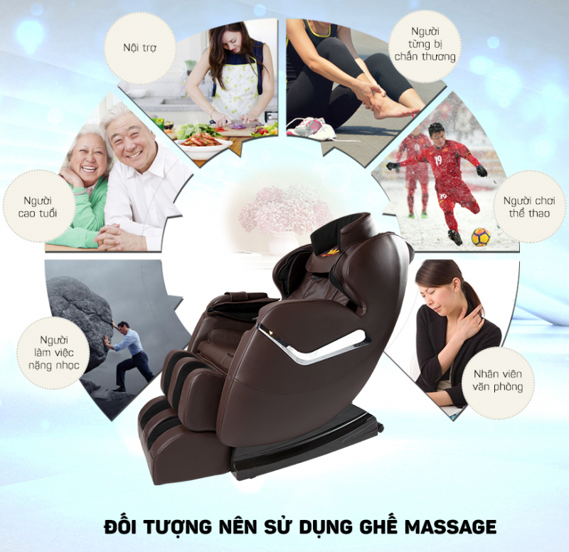 GHẾ MASSAGE KINGSPORT H199