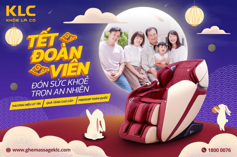 Ghế massage KLC - Phú Yên