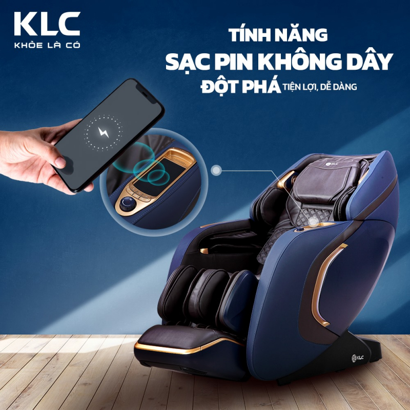 Ghế massage KLC – Vinh, Nghệ An