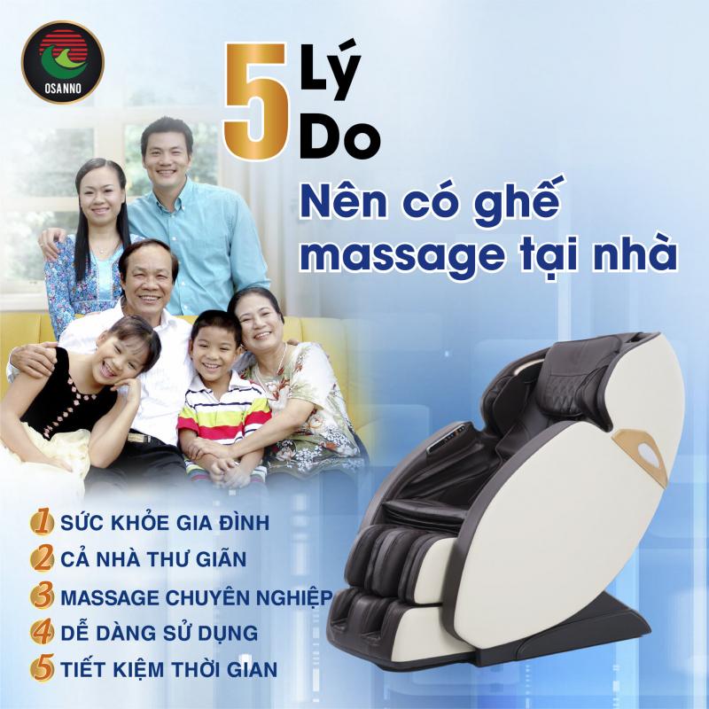 Ghế Massage Osanno - Nha Trang