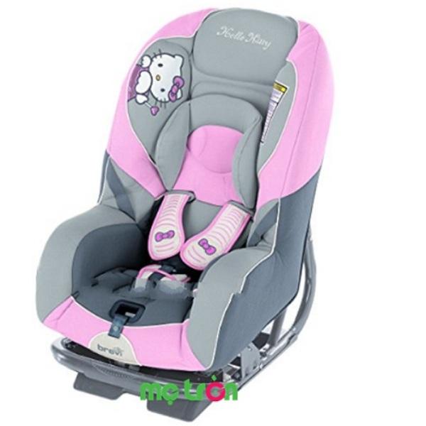 Ghế ngồi xe hơi đáng yêu Brevi Grandprix Silverline Hello Kitty