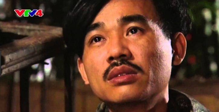 Nghệ sĩ Quốc Khánh trong một cảnh quay