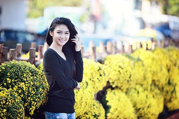 Sở hữu nét đẹp trong sáng, hot girl này tạo ấn tượng đẹp và được so sánh với các model teen đình đám hiện nay như Bảo Trân.