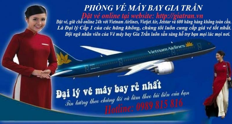Phòng vé máy bay Gia Trần