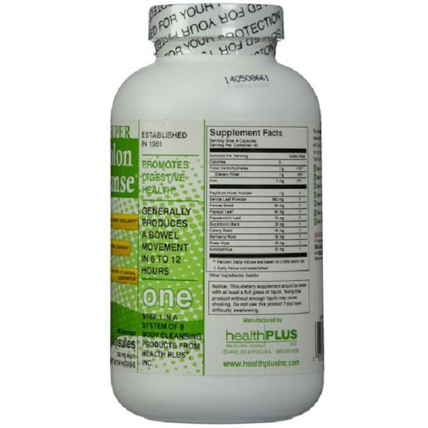 Giải độc đường ruột Colon Cleanse (240 viên)