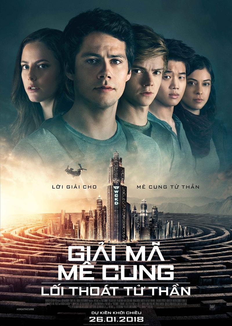 Poster Giải mã mê cung - Lối thoát tử thần